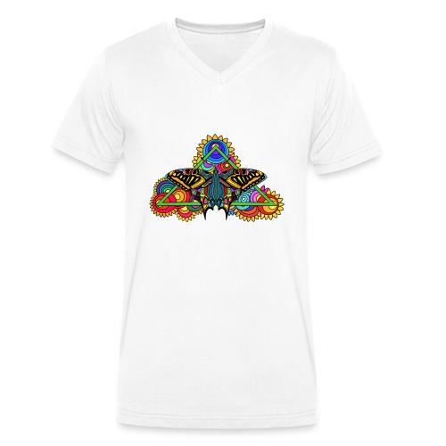 Happy Butterfly! - Männer Bio-T-Shirt mit V-Ausschnitt von Stanley & Stella