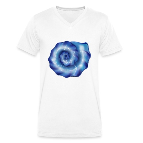 Galaktische Spiralenmuschel! - Männer Bio-T-Shirt mit V-Ausschnitt von Stanley & Stella