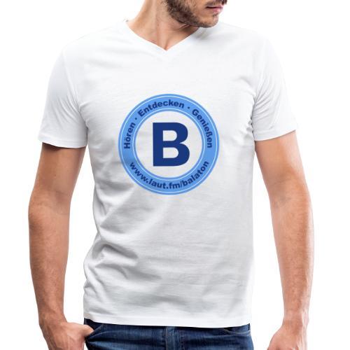 Webradio Balaton - Männer Bio-T-Shirt mit V-Ausschnitt von Stanley & Stella