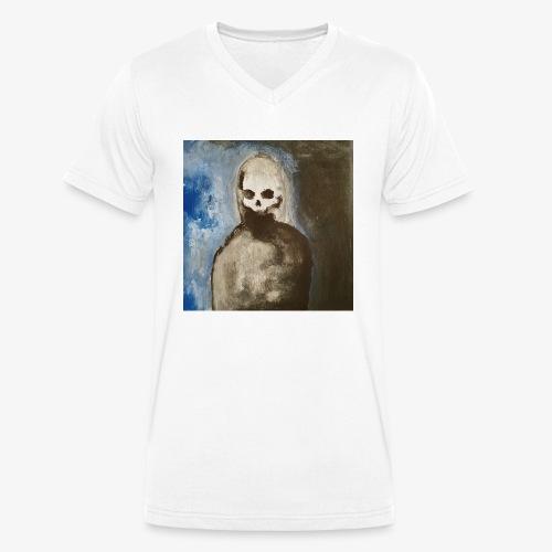 Death - Men's Organic V-Neck T-Shirt by Stanley & Stella