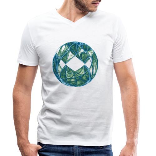 Harmonie im Ozean der Elemente 446oce - Männer Bio-T-Shirt mit V-Ausschnitt von Stanley & Stella