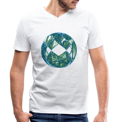 Harmony in the Ocean of Elements 446oce - Men's Organic V-Neck T-Shirt by Stanley & Stella