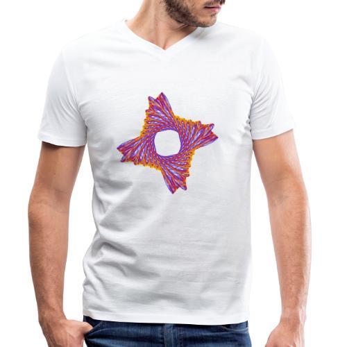 rotierendes Lebensfeuer 12162bry - Männer Bio-T-Shirt mit V-Ausschnitt von Stanley & Stella