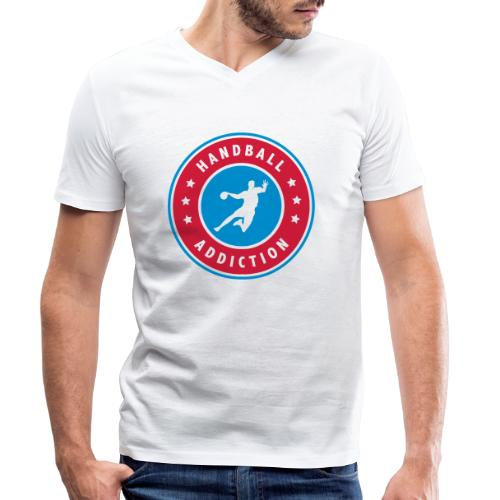 handball addiction - T-shirt bio col V Stanley & Stella Homme