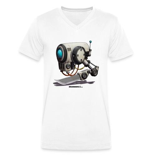 The C.H.O.P. Robot! (Cut Hard Object Precise) - Økologisk Stanley & Stella T-shirt med V-udskæring til herrer