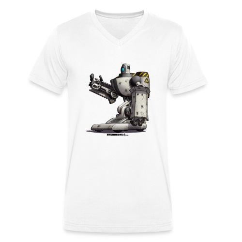 The S.H.I.E.L.D. Robot! - Økologisk Stanley & Stella T-shirt med V-udskæring til herrer