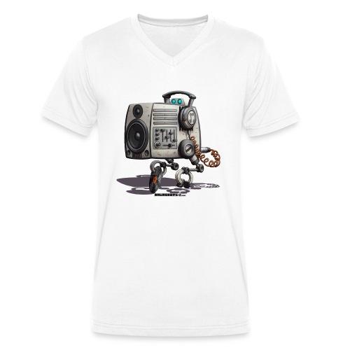 The S.O.U.N.D. Robot! - Økologisk Stanley & Stella T-shirt med V-udskæring til herrer