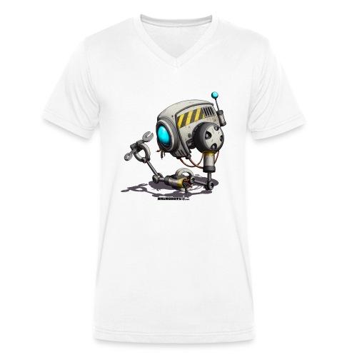 The T.O.O.L. Robot! - Økologisk Stanley & Stella T-shirt med V-udskæring til herrer