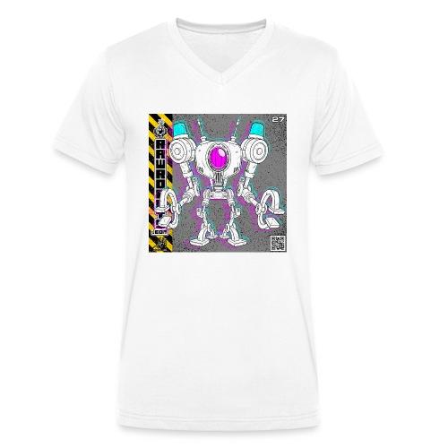 The L.I.G.H.T. Robot! - Økologisk Stanley & Stella T-shirt med V-udskæring til herrer
