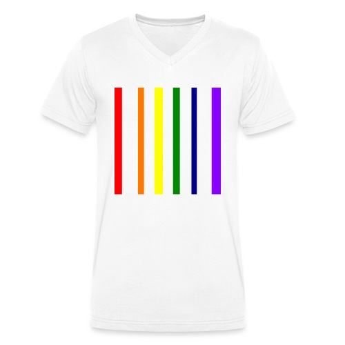 UNSCALABLE - Männer Bio-T-Shirt mit V-Ausschnitt von Stanley & Stella