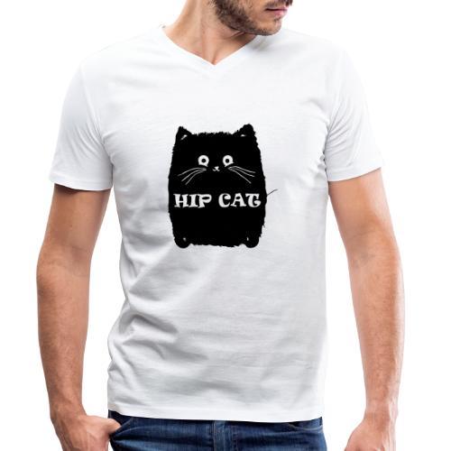 HIP CAT - T-shirt bio col V Stanley & Stella Homme