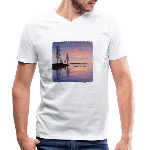 Soirée tranquille - T-shirt bio col V Stanley & Stella Homme