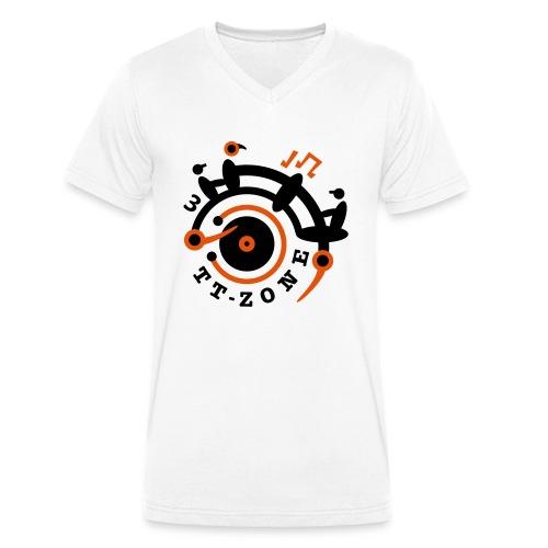 TurnTable Zone 3 - Männer Bio-T-Shirt mit V-Ausschnitt von Stanley & Stella
