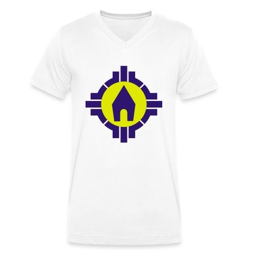Schoenstatt Logo Vektor - Männer Bio-T-Shirt mit V-Ausschnitt von Stanley & Stella