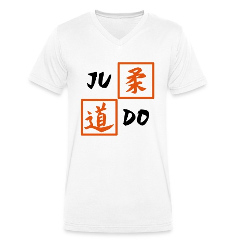 judo 2farbig - Männer Bio-T-Shirt mit V-Ausschnitt von Stanley & Stella