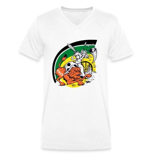 fortunaknvb - Mannen bio T-shirt met V-hals van Stanley & Stella