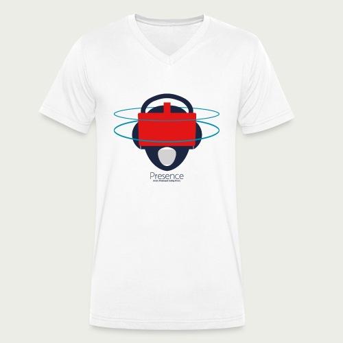 Presence - Men's Organic V-Neck T-Shirt by Stanley & Stella
