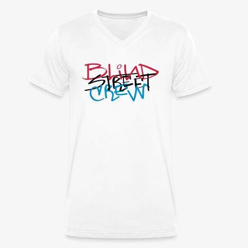 BSC Tag Rasta - T-shirt ecologica da uomo con scollo a V di Stanley & Stella