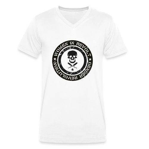T-Shirt-Design3-jpg - Økologisk Stanley & Stella T-shirt med V-udskæring til herrer