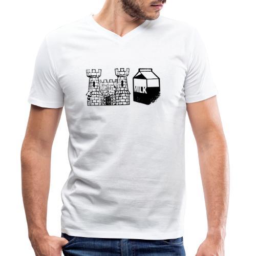 Castlemilk - Men's Organic V-Neck T-Shirt by Stanley & Stella