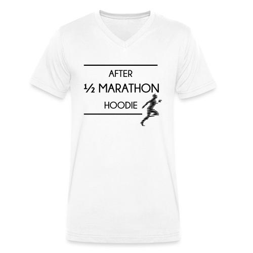 Halfmarathon - Männer Bio-T-Shirt mit V-Ausschnitt von Stanley & Stella