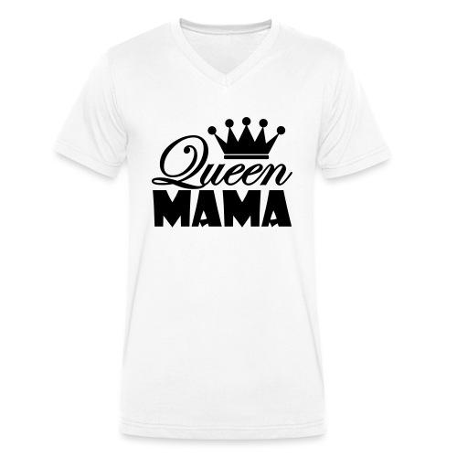 queenmama - Männer Bio-T-Shirt mit V-Ausschnitt von Stanley & Stella