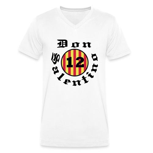 Don Salentino12 Rotondo Gothic by Fantomissimo - Männer Bio-T-Shirt mit V-Ausschnitt von Stanley & Stella