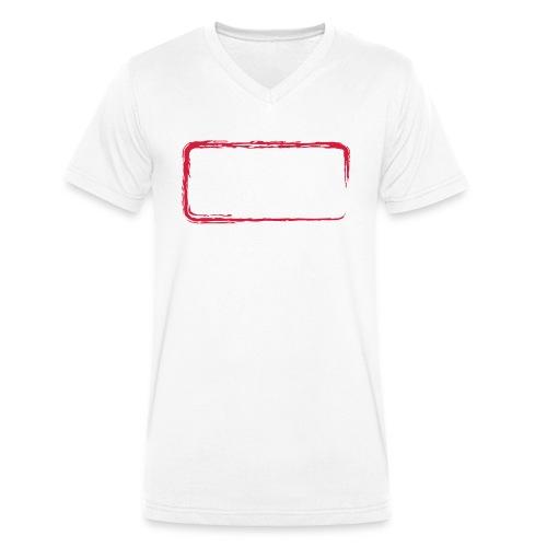 Rahmen_01 - Männer Bio-T-Shirt mit V-Ausschnitt von Stanley & Stella