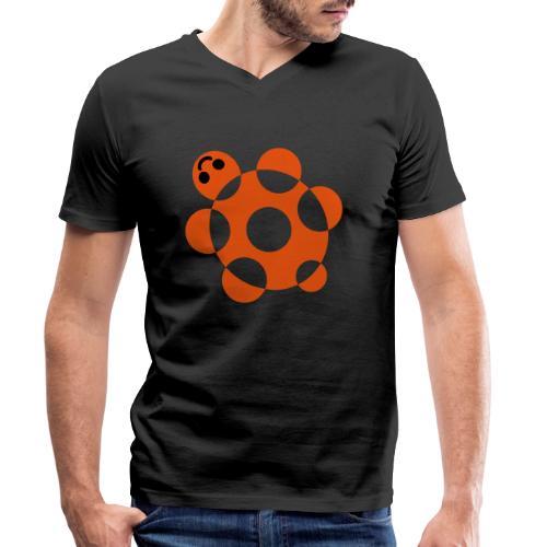 Tartaruga - T-shirt ecologica da uomo con scollo a V di Stanley & Stella