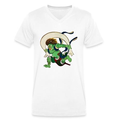 Kaze Kami - Wind Gott - Männer Bio-T-Shirt mit V-Ausschnitt von Stanley & Stella
