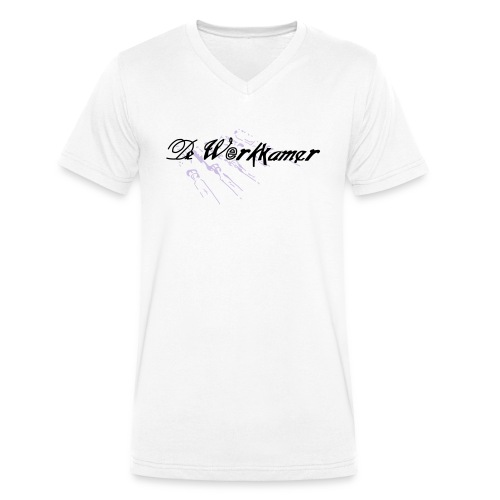 werkkamer edit - Mannen bio T-shirt met V-hals van Stanley & Stella