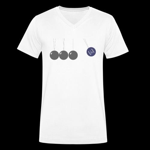 Pendel 2 - Männer Bio-T-Shirt mit V-Ausschnitt von Stanley & Stella