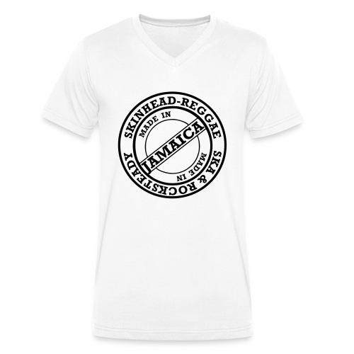 skinheadreggae_made_in_jamaica - Männer Bio-T-Shirt mit V-Ausschnitt von Stanley & Stella