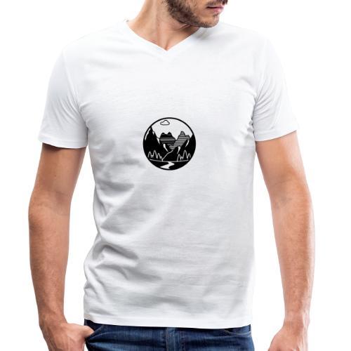 MTB WayOfLife - Männer Bio-T-Shirt mit V-Ausschnitt von Stanley & Stella