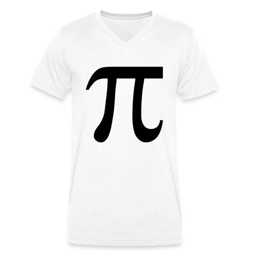 pisymbol - Mannen bio T-shirt met V-hals van Stanley & Stella