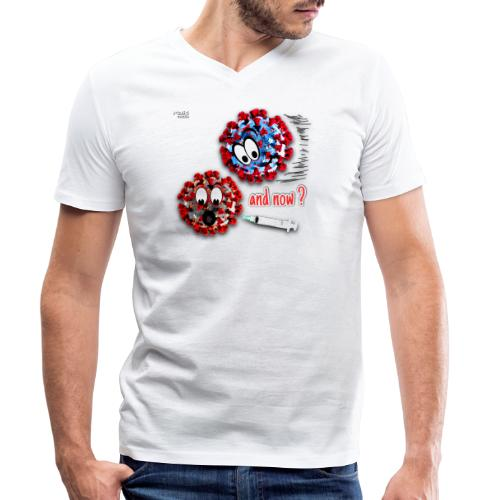 The vaccine ... and now? - T-shirt bio col V Stanley & Stella Homme