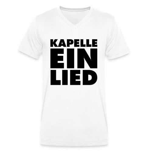 KAPELLE EIN LIED - Männer Bio-T-Shirt mit V-Ausschnitt von Stanley & Stella