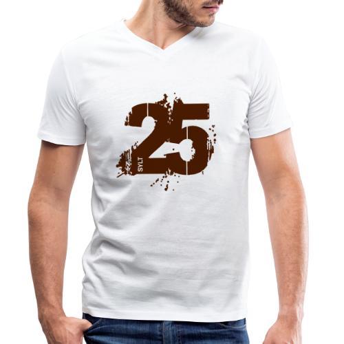 City_25_Sylt - Männer Bio-T-Shirt mit V-Ausschnitt von Stanley & Stella