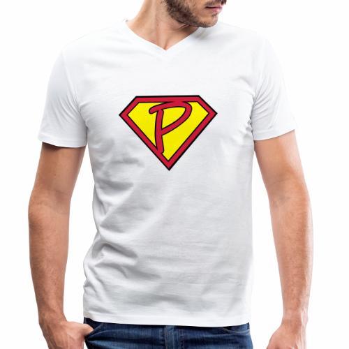 superp 2 - Männer Bio-T-Shirt mit V-Ausschnitt von Stanley & Stella