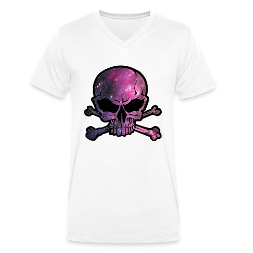 deathstar png - Men's Organic V-Neck T-Shirt by Stanley & Stella