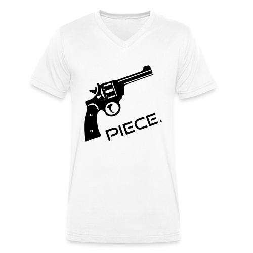 Waffe - Piece - Männer Bio-T-Shirt mit V-Ausschnitt von Stanley & Stella