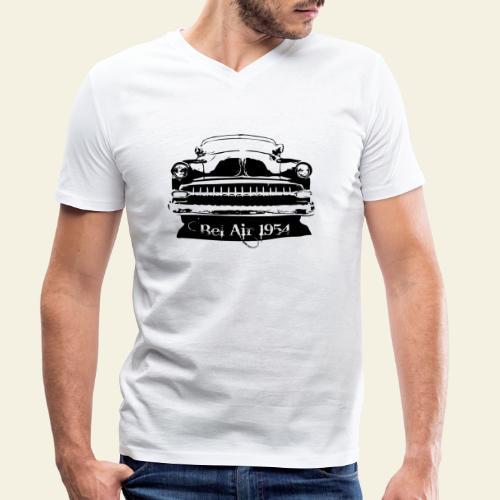 bel air 54 - Økologisk Stanley & Stella T-shirt med V-udskæring til herrer