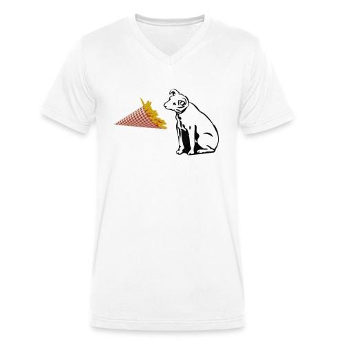 Frites Dog - T-shirt bio col V Stanley & Stella Homme