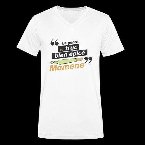 Ce genre de truc épicé, Mamene - T-shirt bio col V Stanley & Stella Homme