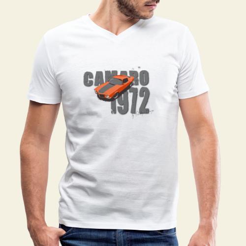 1972 camaro flat - Økologisk Stanley & Stella T-shirt med V-udskæring til herrer