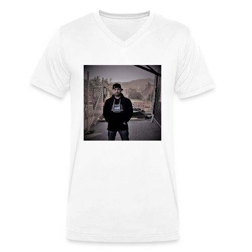 20180713 203451KOPIA - Ekologisk T-shirt med V-ringning herr från Stanley & Stella