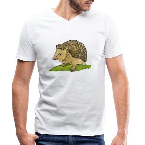 Igel - Männer Bio-T-Shirt mit V-Ausschnitt von Stanley & Stella