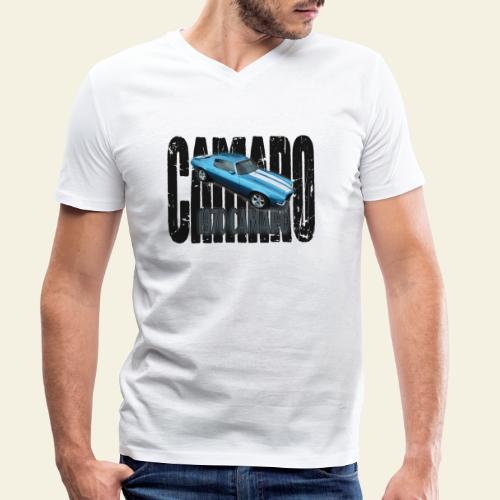 70 Camaro - Økologisk Stanley & Stella T-shirt med V-udskæring til herrer