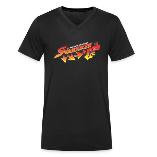 Maglietta Svarioken - T-shirt ecologica da uomo con scollo a V di Stanley & Stella