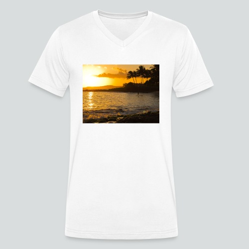 ISLAND STYLE 03-14-jpg - T-shirt ecologica da uomo con scollo a V di Stanley & Stella